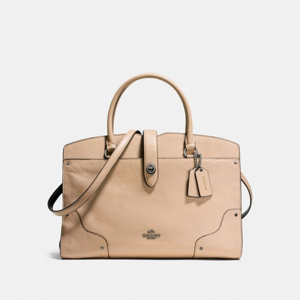 Mercer Satchel In Colorblock by Coach