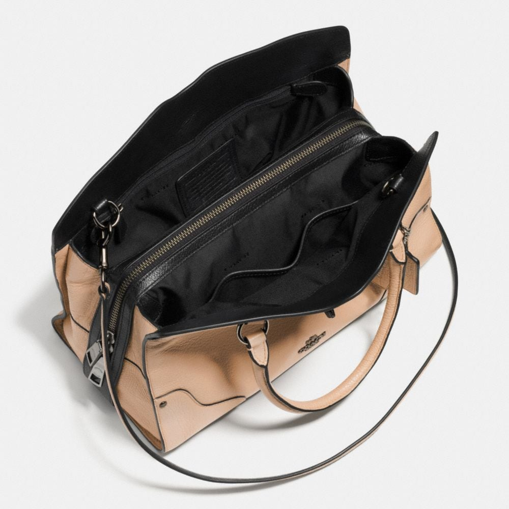 MERCER SATCHEL 30 IN COLORBLOCK LEATHER - Alternate View A3