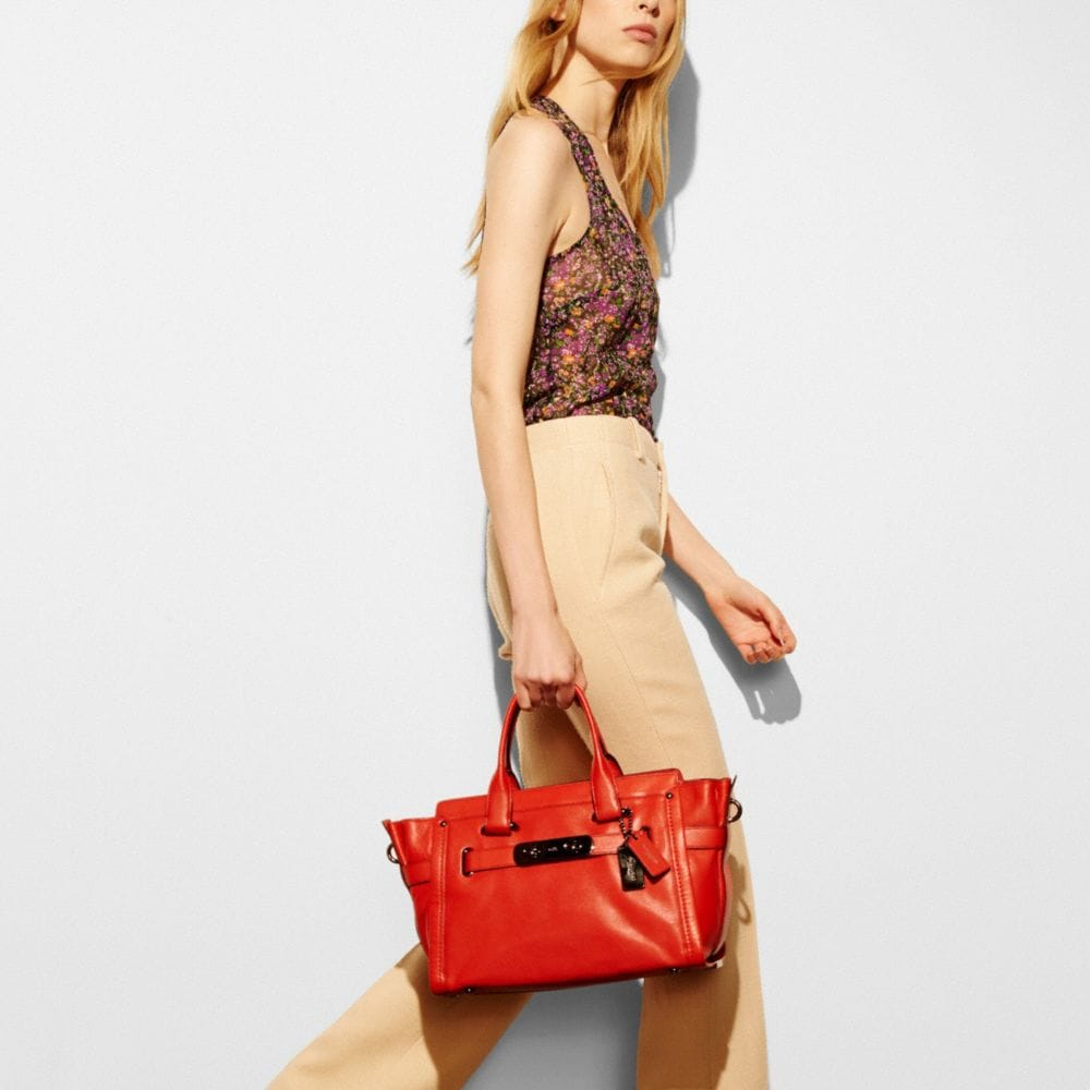 Coach Soft Swagger in Soft Grain Leather - Autres affichages A4