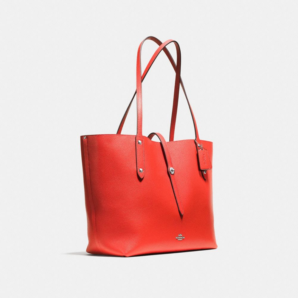 Market Tote in Pebble Leather - Alternate View A2