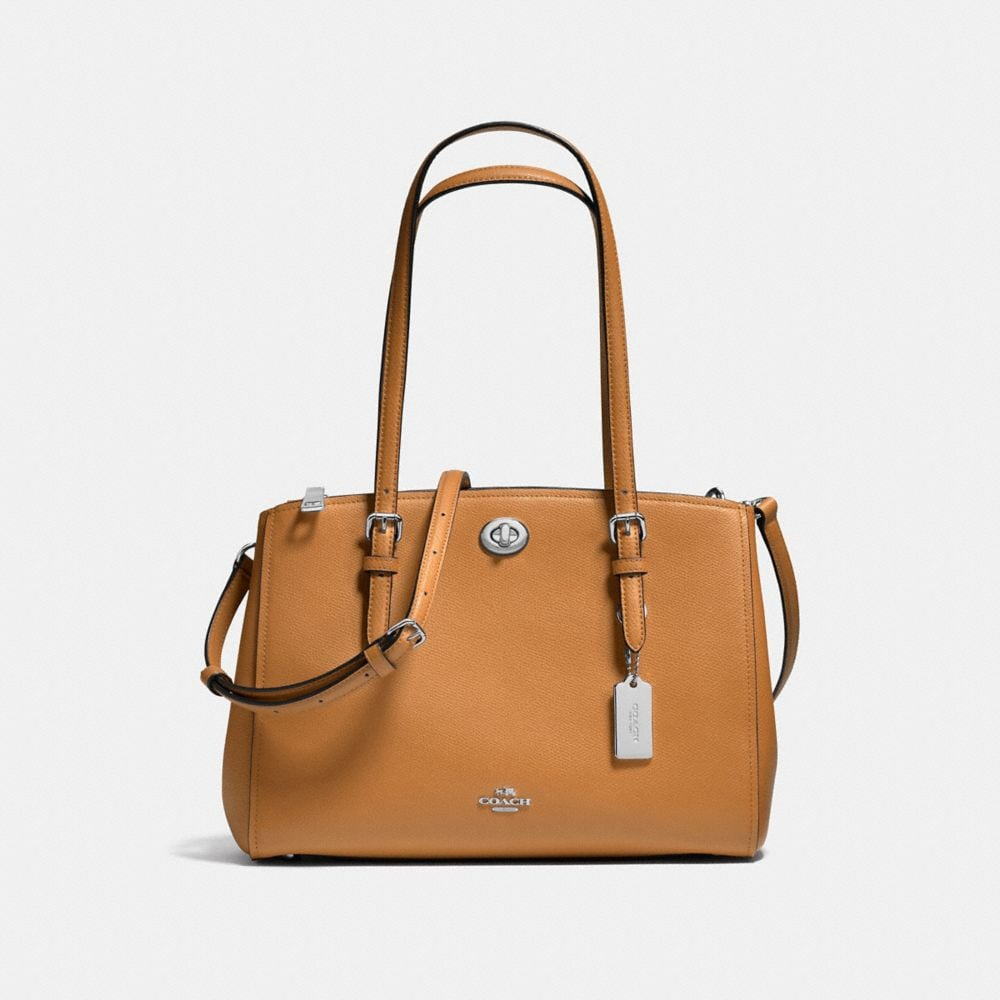 TURNLOCK CARRYALL 29 IN CROSSGRAIN LEATHER