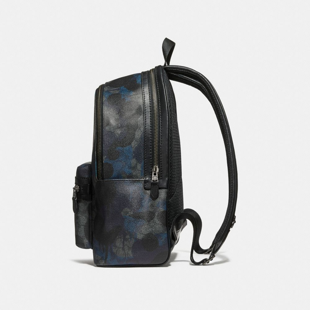 Coach Academy Backpack in Signature Wild Beast Print Alternate View 1