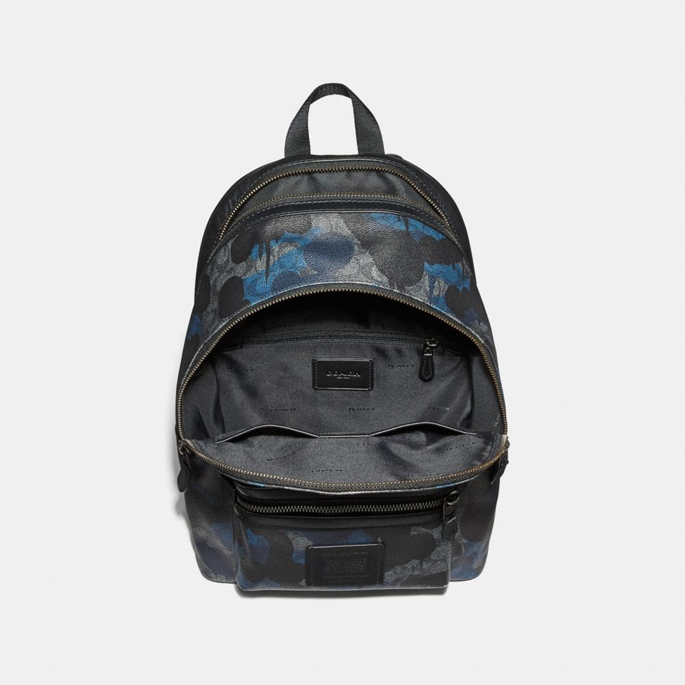 Coach Academy Backpack in Signature Wild Beast Print Alternate View 2