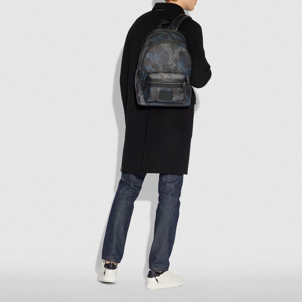 Coach Academy Backpack in Signature Wild Beast Print Alternate View 3
