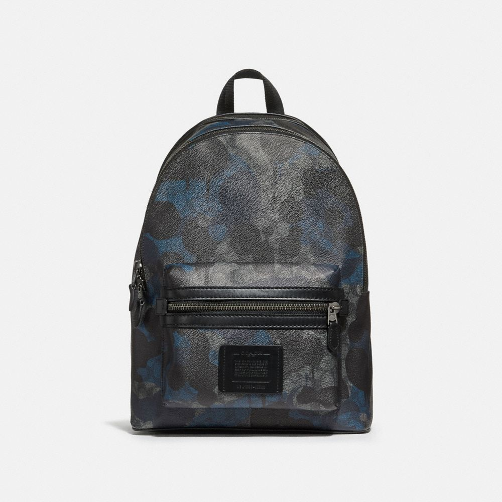 ACADEMY BACKPACK IN SIGNATURE COATED CANVAS WITH WILD BEAST PRINT