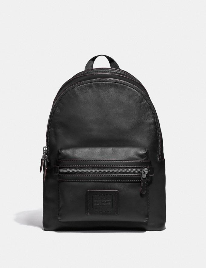 Coach Academy Backpack Black/Black Copper Finish Cyber Monday Men's Cyber Monday Sale Bags