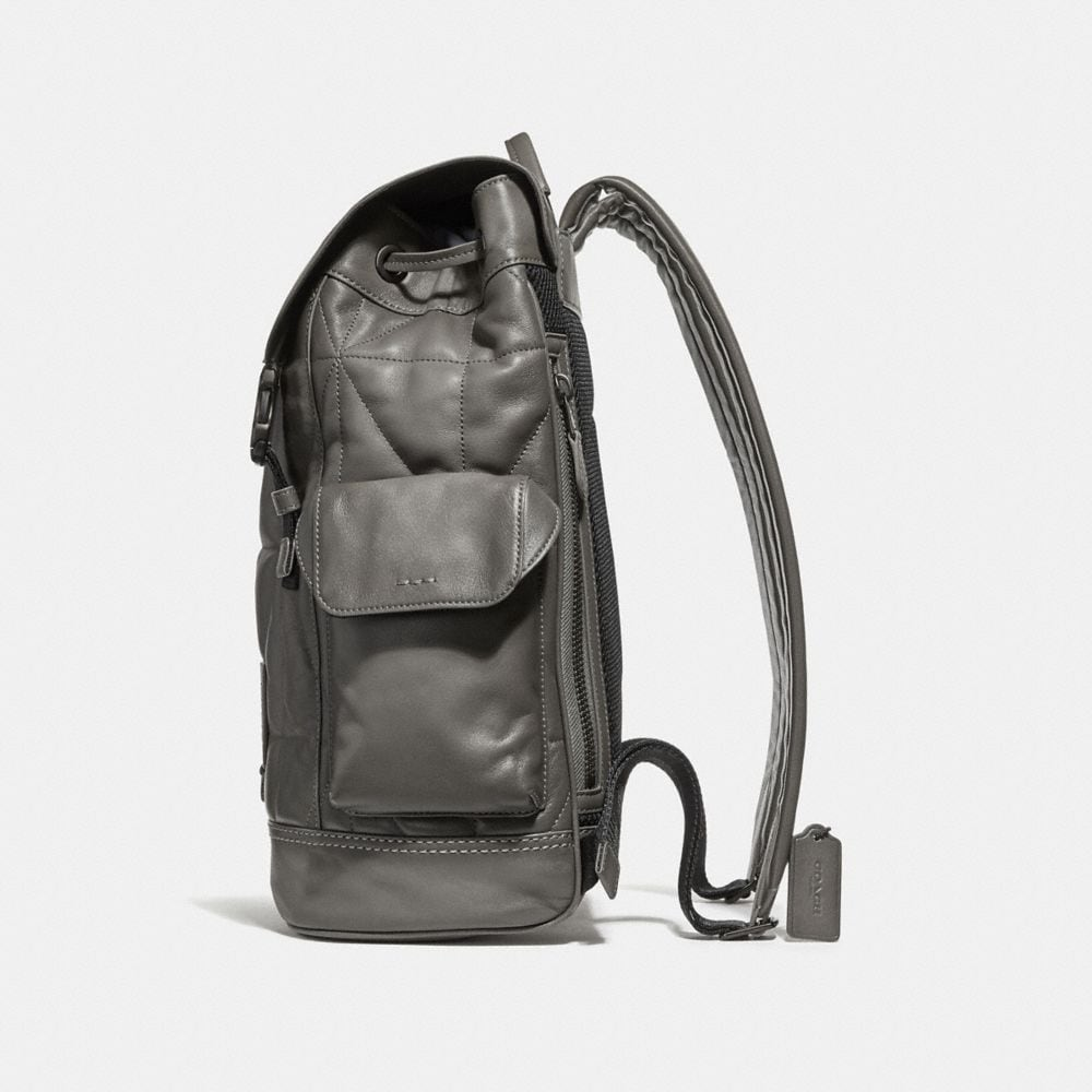 Coach Rivington Backpack With Quilting Alternate View 1