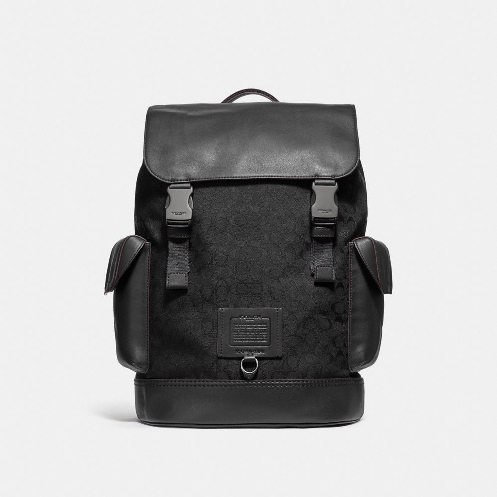 Coach Rivington Backpack in Signature Jacquard