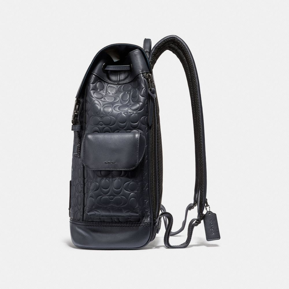 Coach Rivington Backpack in Signature Leather Alternate View 1