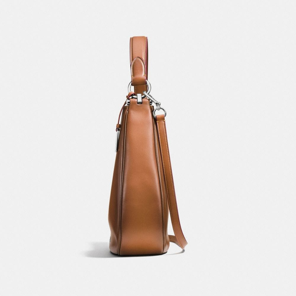 Coach Nomad Hobo in Burnished Glovetanned Leather - Alternate View A1