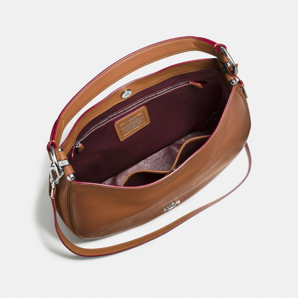 Coach Coach Nomad Hobo in Burnished Glovetanned Leather Alternate View 3