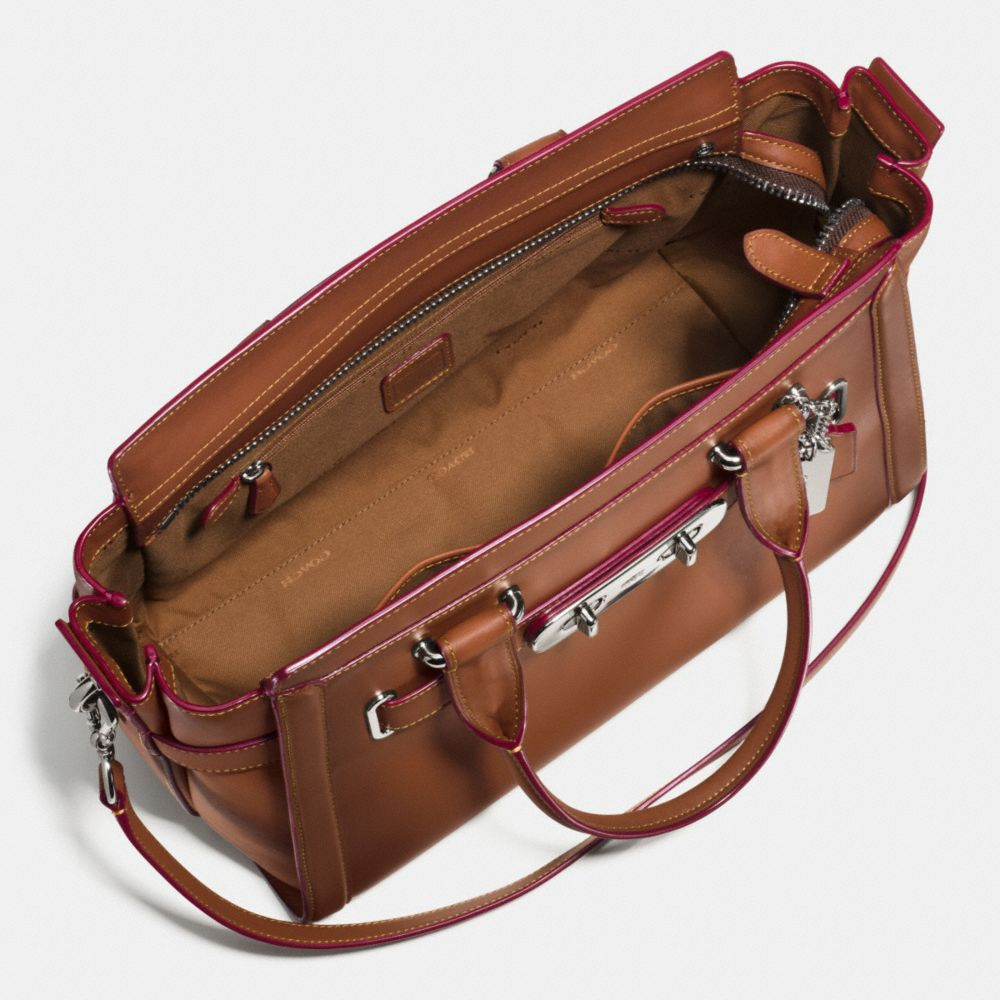 Coach Swagger in Burnished Glovetanned Leather - Alternate View A2