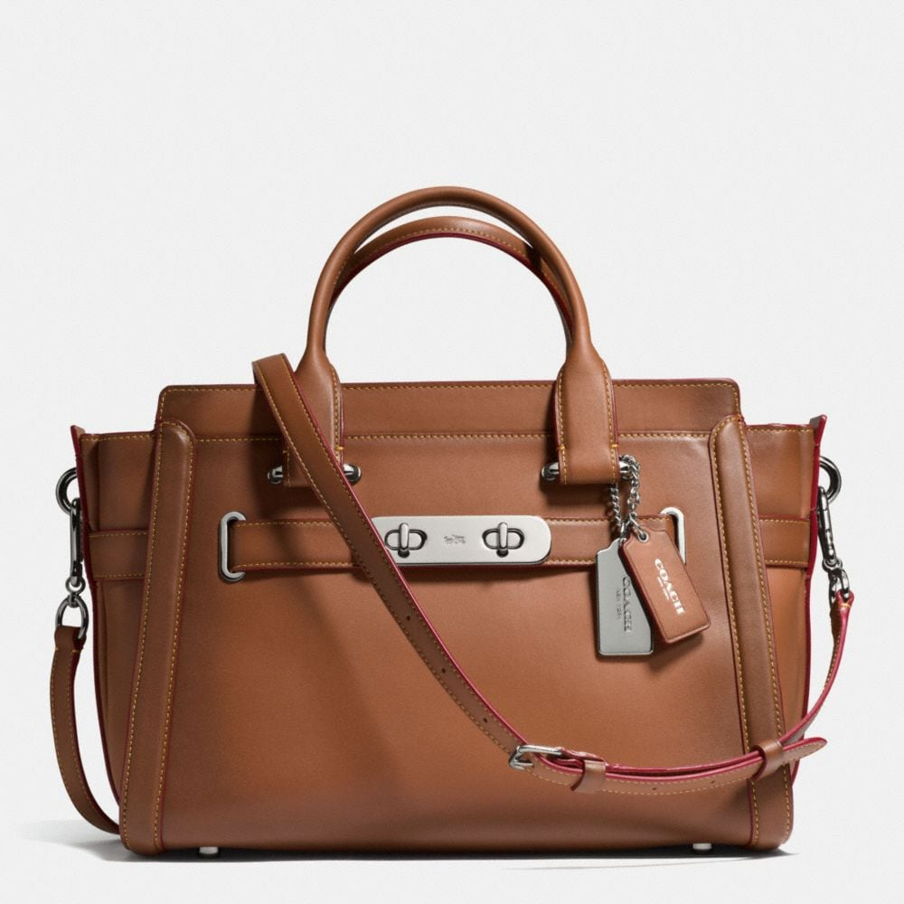 Coach Coach Swagger in Burnished Glovetanned Leather