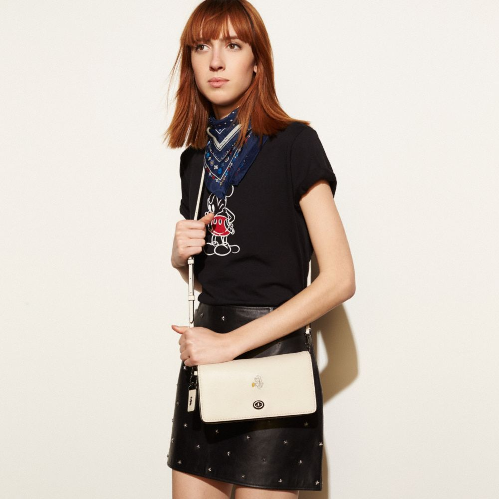 Coach Mickey Dinky Crossbody in Glovetanned Leather Alternate View 4