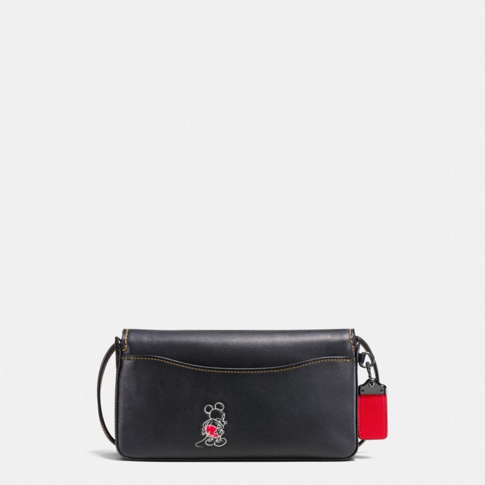 MICKEY DINKY CROSSBODY IN GLOVETANNED LEATHER - Autres affichages A2