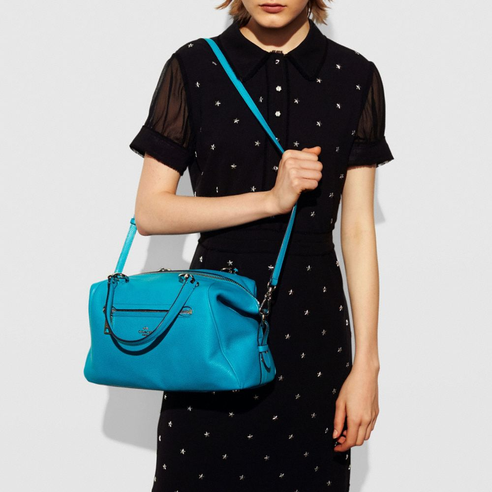 Primrose Satchel in Pebble Leather - Autres affichages A4