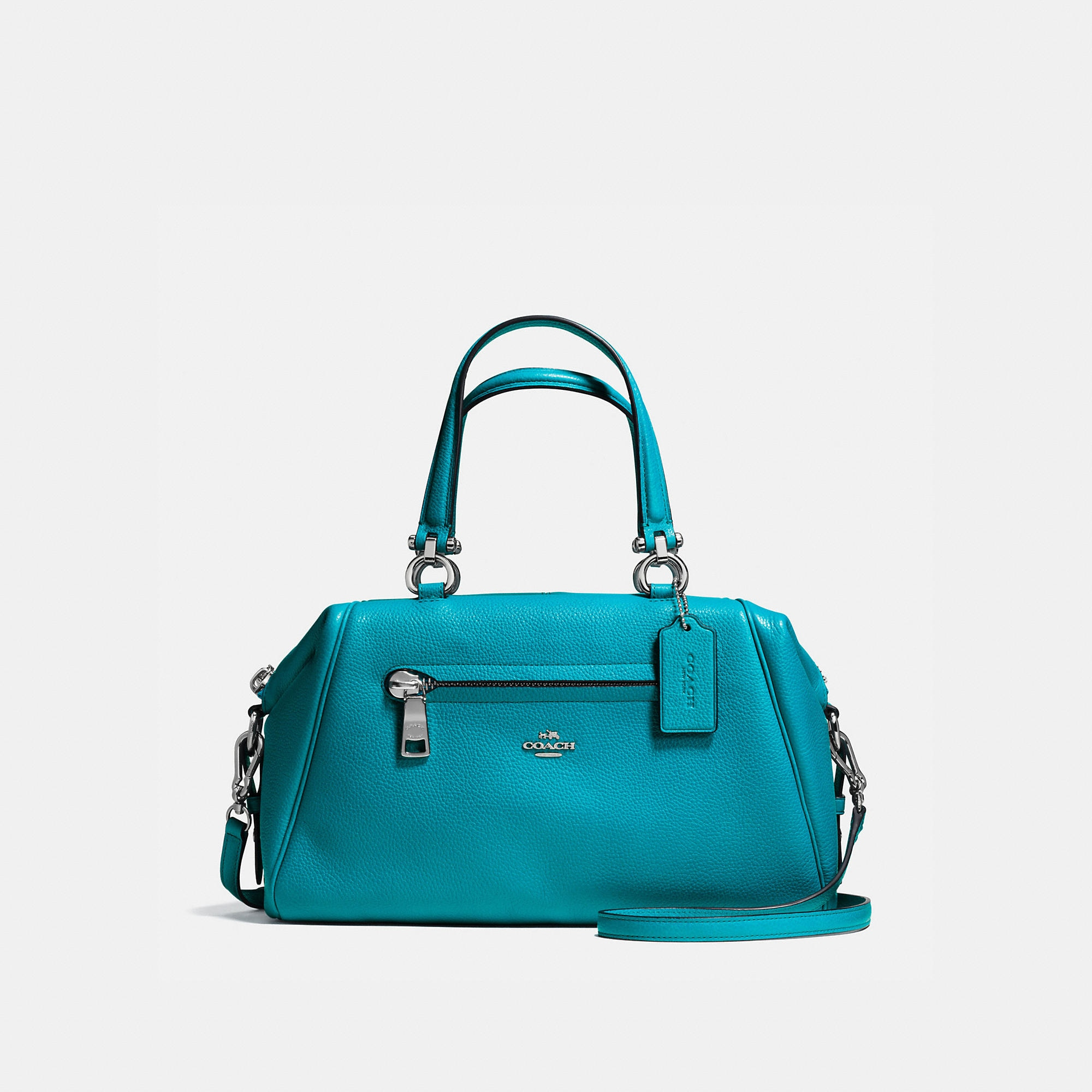 Coach Primrose Satchel In Pebble Leather