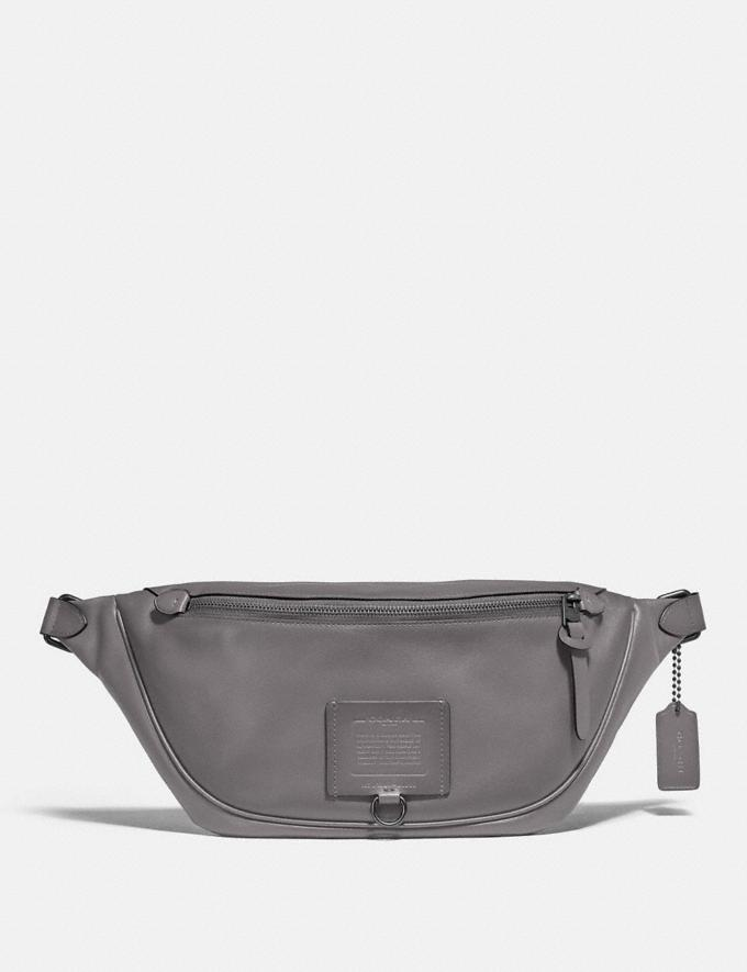 Coach Rivington Belt Bag Black Copper/Grey Gifts For Him