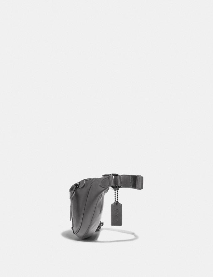 Coach Rivington Belt Bag Black Copper/Grey SALE Men's Sale Alternate View 1