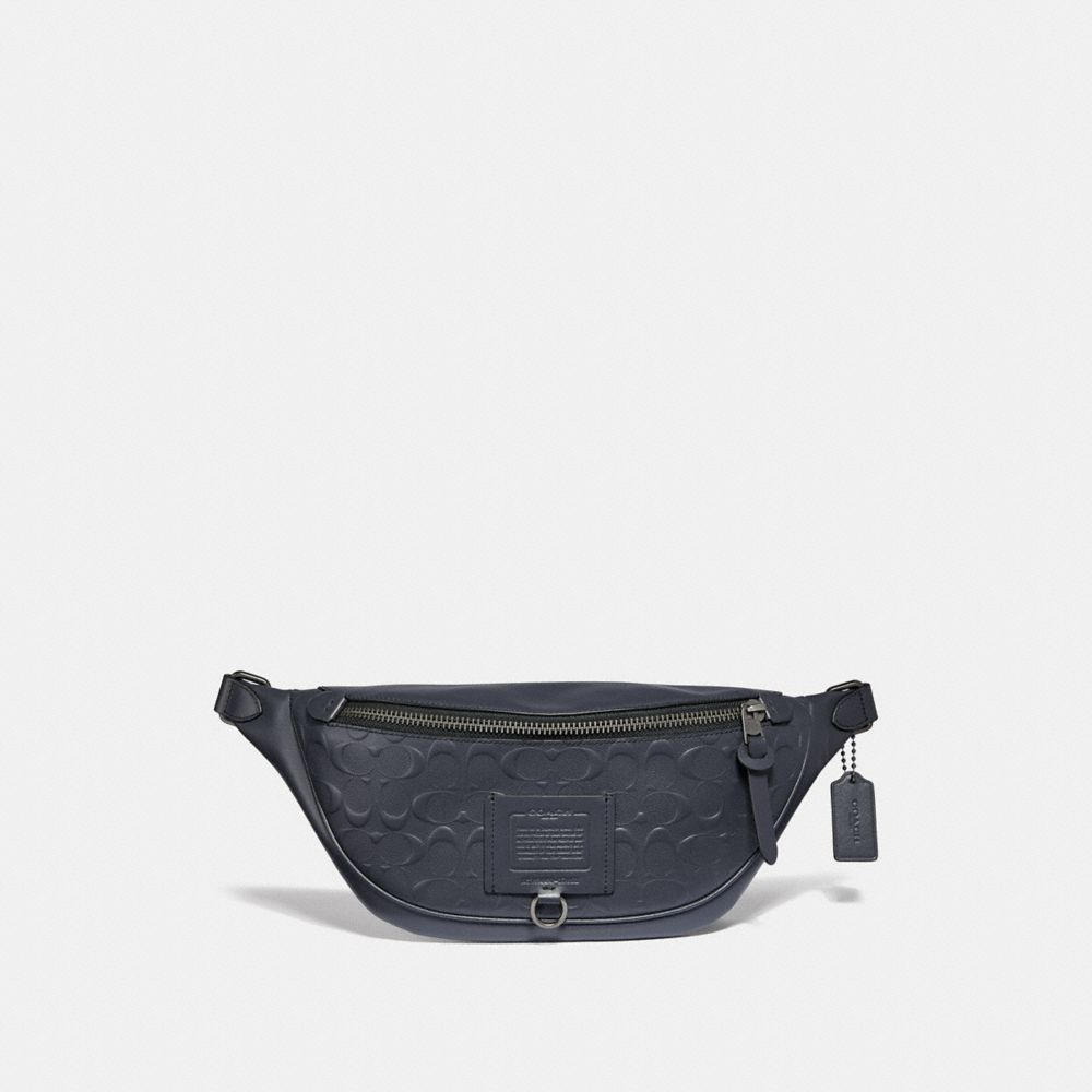 Coach Rivington Belt Bag in Signature Leather