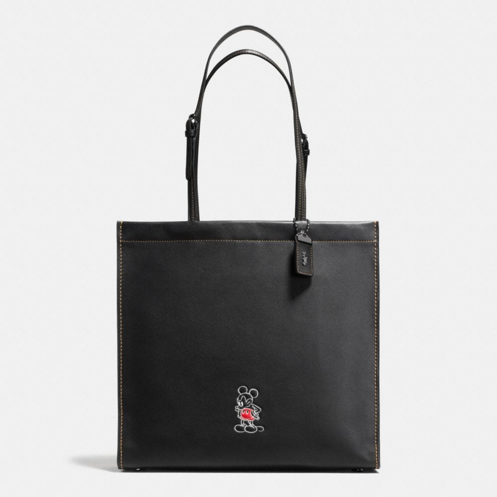 Mickey Skinny Tote in Glovetanned Leather
