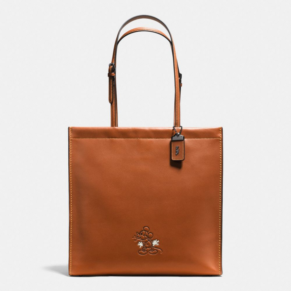 Coach Mickey Skinny Tote in Glovetanned Leather