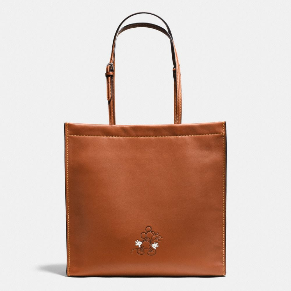 Coach Mickey Skinny Tote in Glovetanned Leather Alternate View 1