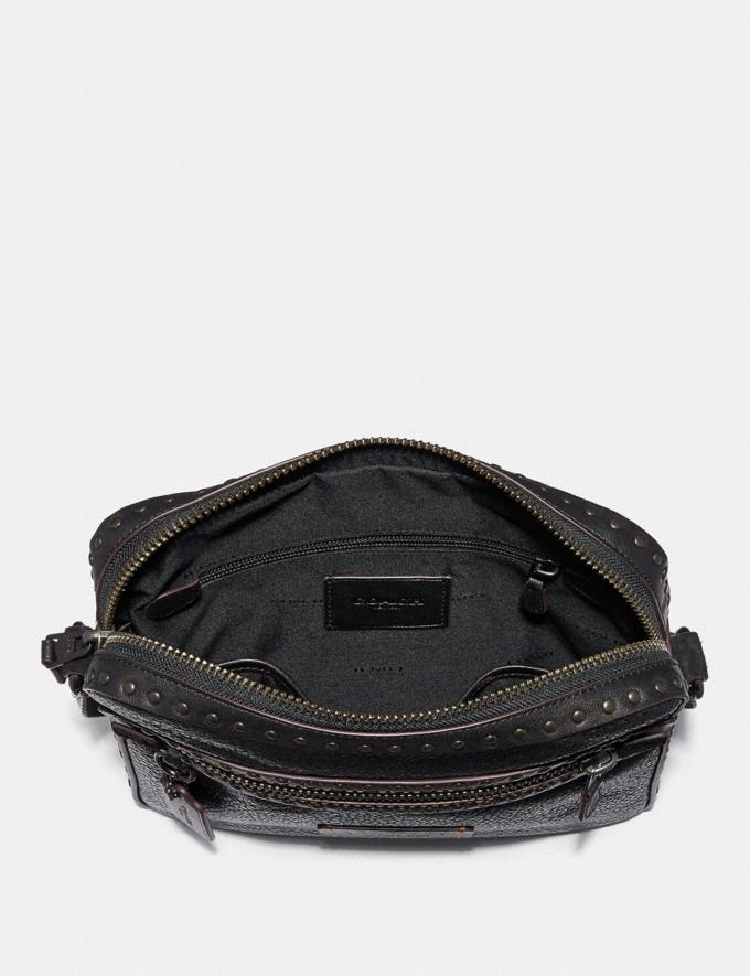 Coach Dylan 27 With Rivets Black/Black Copper Finish New Men's New Arrivals View All Alternate View 2