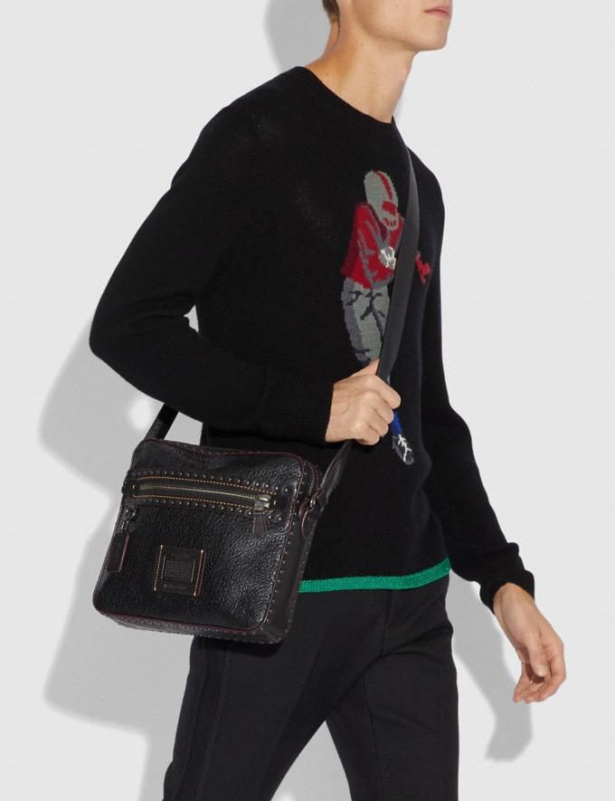Coach Dylan 27 With Rivets Black/Black Copper Finish New Men's New Arrivals View All Alternate View 3