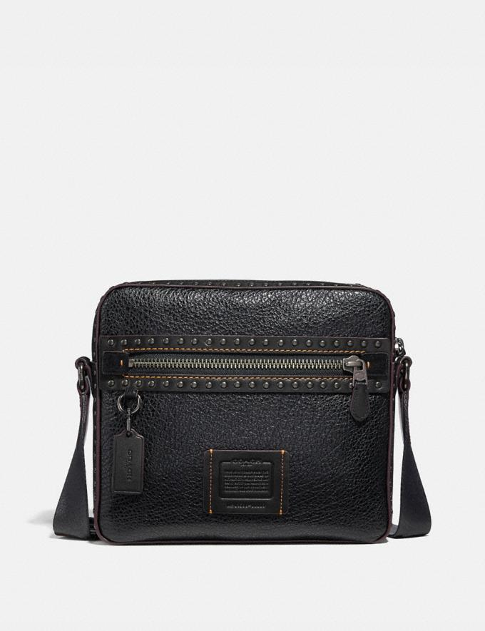 Coach Dylan 27 With Rivets Black/Black Copper Finish New Men's New Arrivals View All