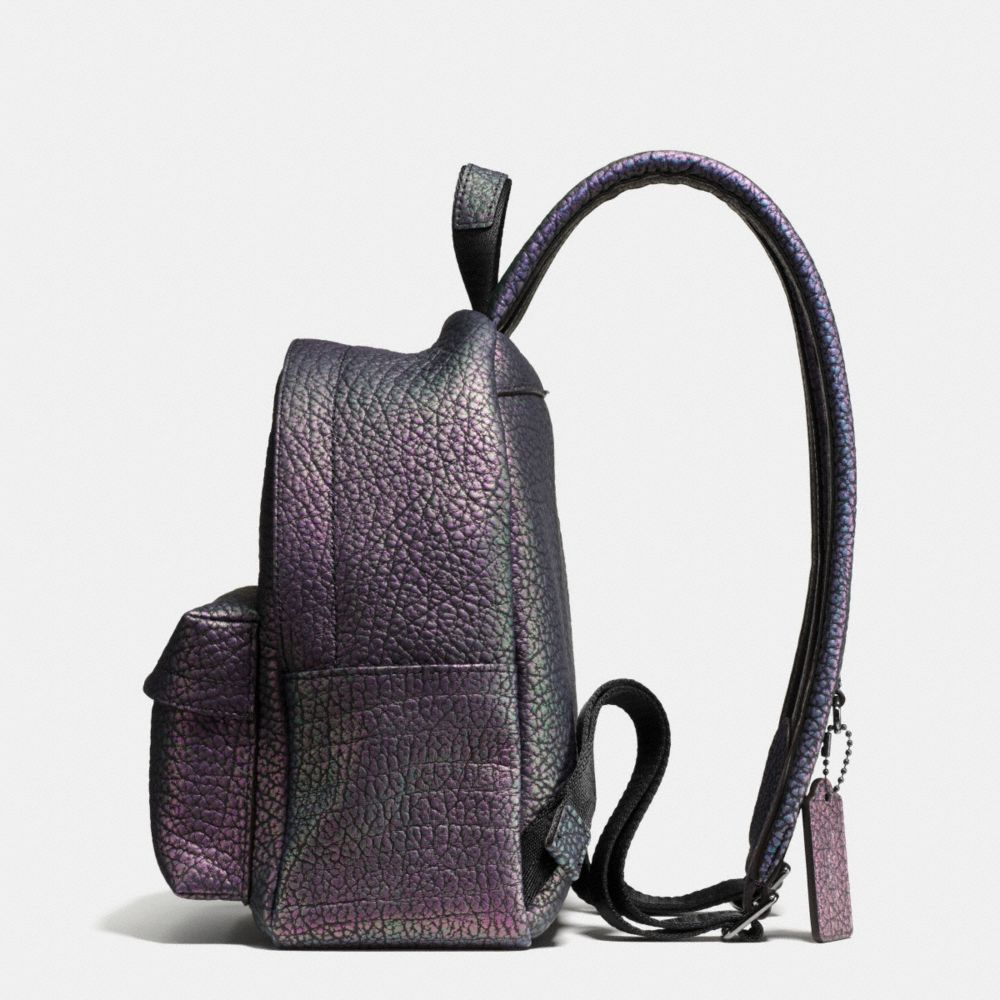 Mini Campus Backpack in Hologram Leather - Alternate View A1