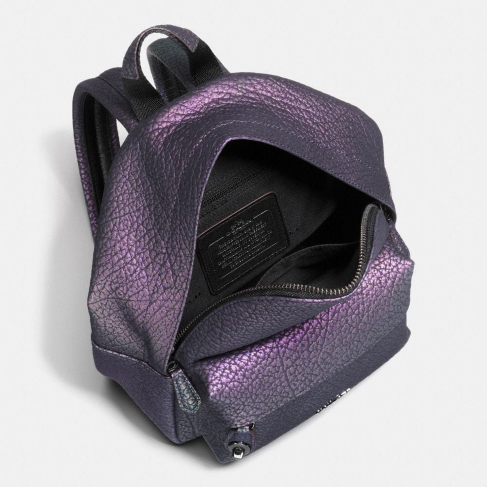 Mini Campus Backpack in Hologram Leather - Alternate View A2