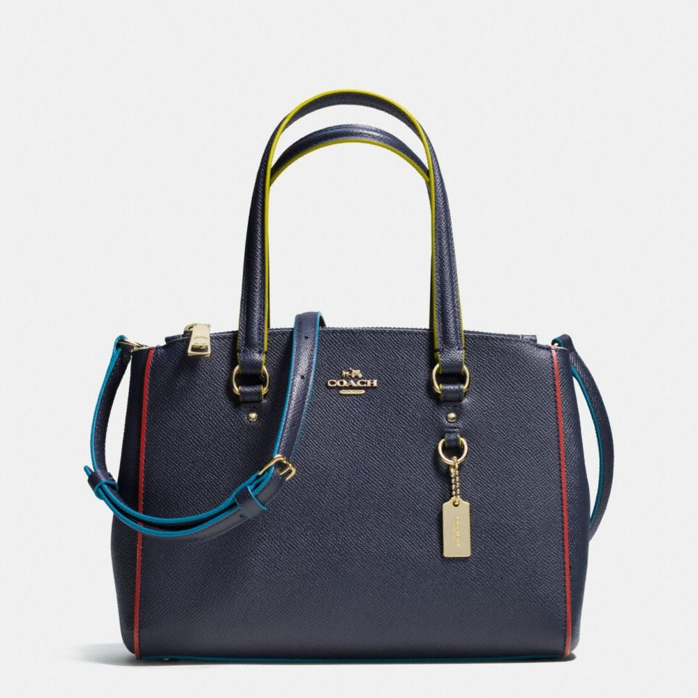 STANTON CARRYALL 26 IN EDGESTAIN LEATHER