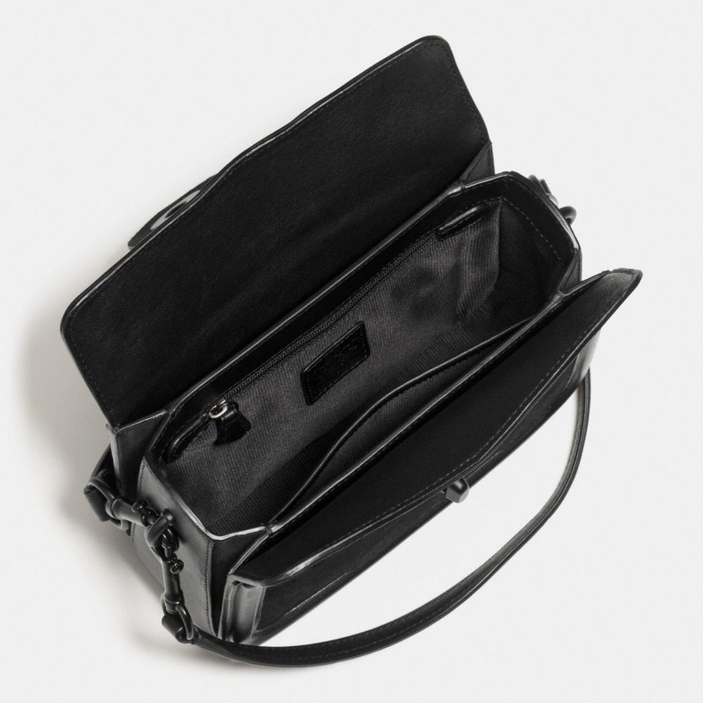 Coach Page Crossbody in Mixed Leather Alternate View 1