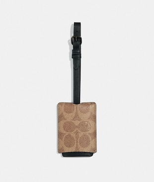 LUGGAGE TAG IN SIGNATURE CANVAS