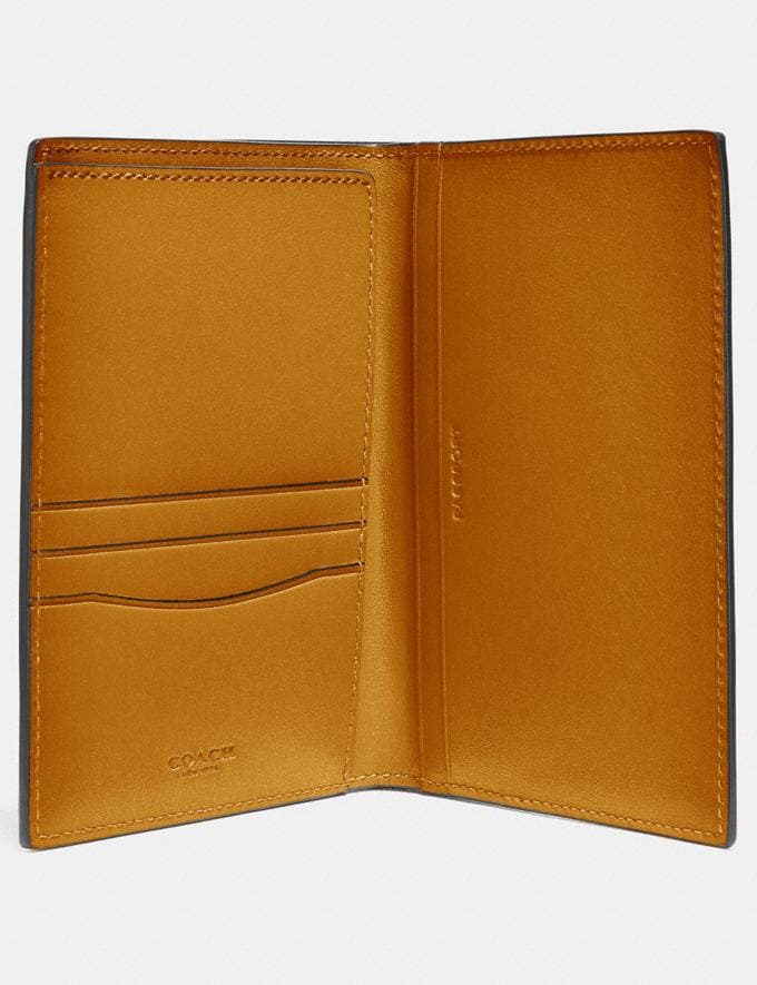 Coach Passport Case Amber Men Edits Travel Alternate View 1