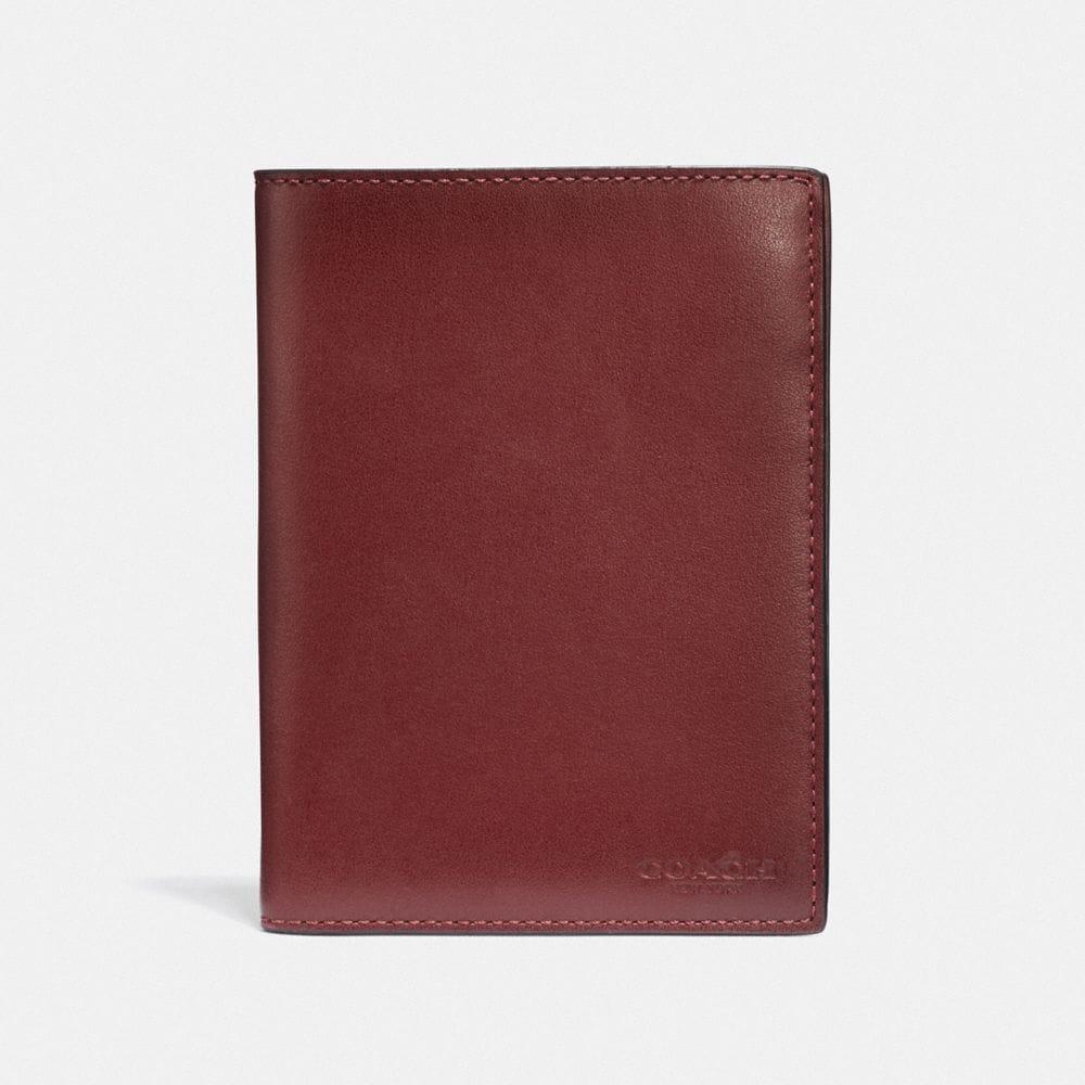 Coach Passport Case