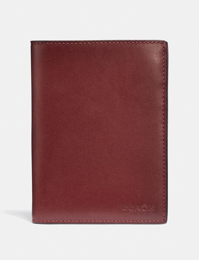 Coach Passport Case Red Currant Gifts For Him Bestsellers