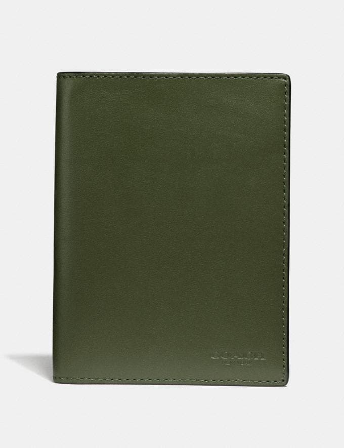 Coach Passport Case Glade New Men's Trends Summer Picks