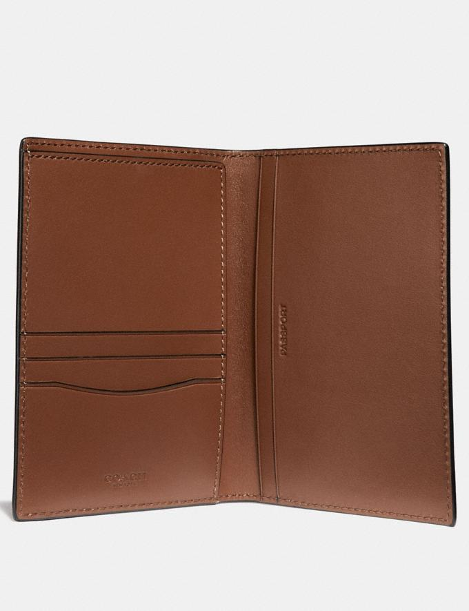 Coach Passport Case Saddle SALE Men's Sale Alternate View 1