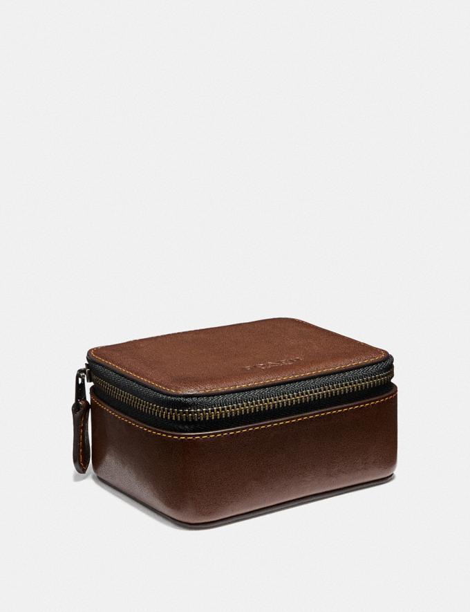 Coach Small Travel Case Natural New Men's Trends Summer Picks