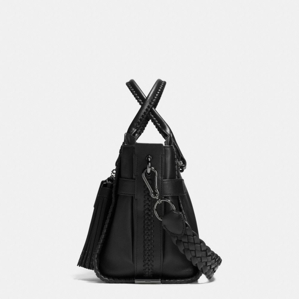 Coach Rip and Repair Coach Swagger Carryall in Glovetanned Leather Alternate View 1