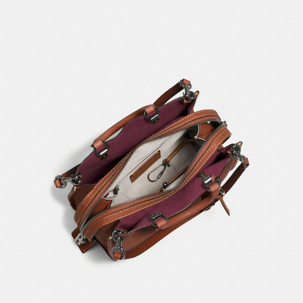Rogue Bag in Glovetanned Pebble Leather - Autres affichages A2