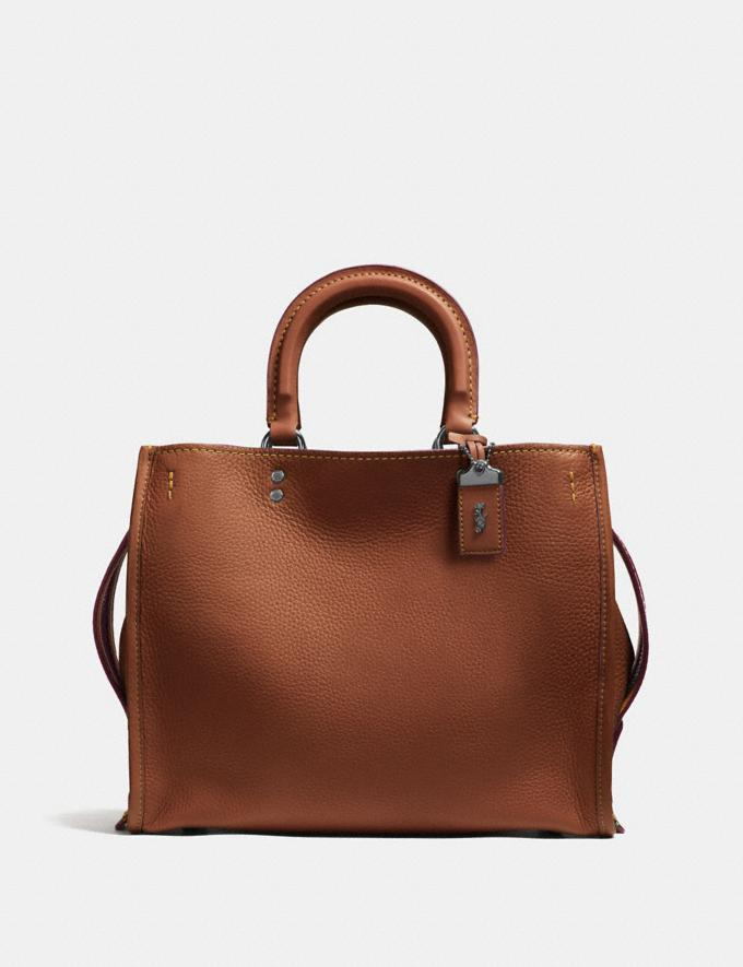 Coach Rogue 1941 Saddle/Wine/Black Copper SALE Women's Sale