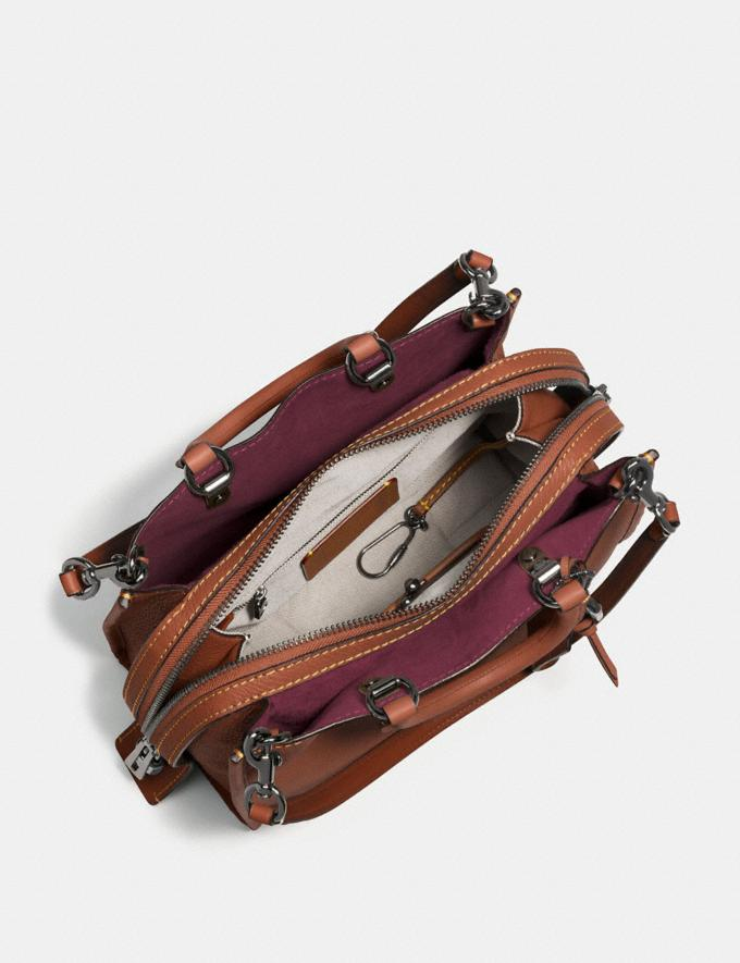 Coach Rogue 1941 Saddle/Wine/Black Copper SALE Women's Sale Alternate View 2