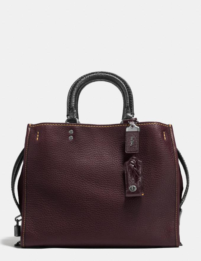 Coach Rogue Oxblood/Dark Gunmetal SALE Online Exclusives