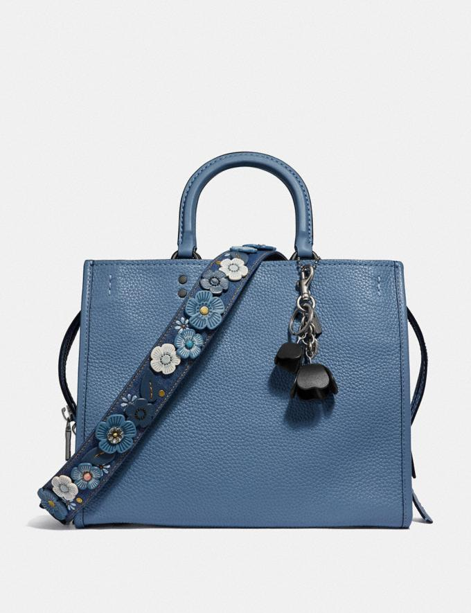Coach Rogue Slate/Pewter Women Bags Shoulder Bags Alternate View 1
