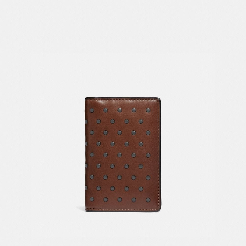 CARD WALLET WITH RIVETS