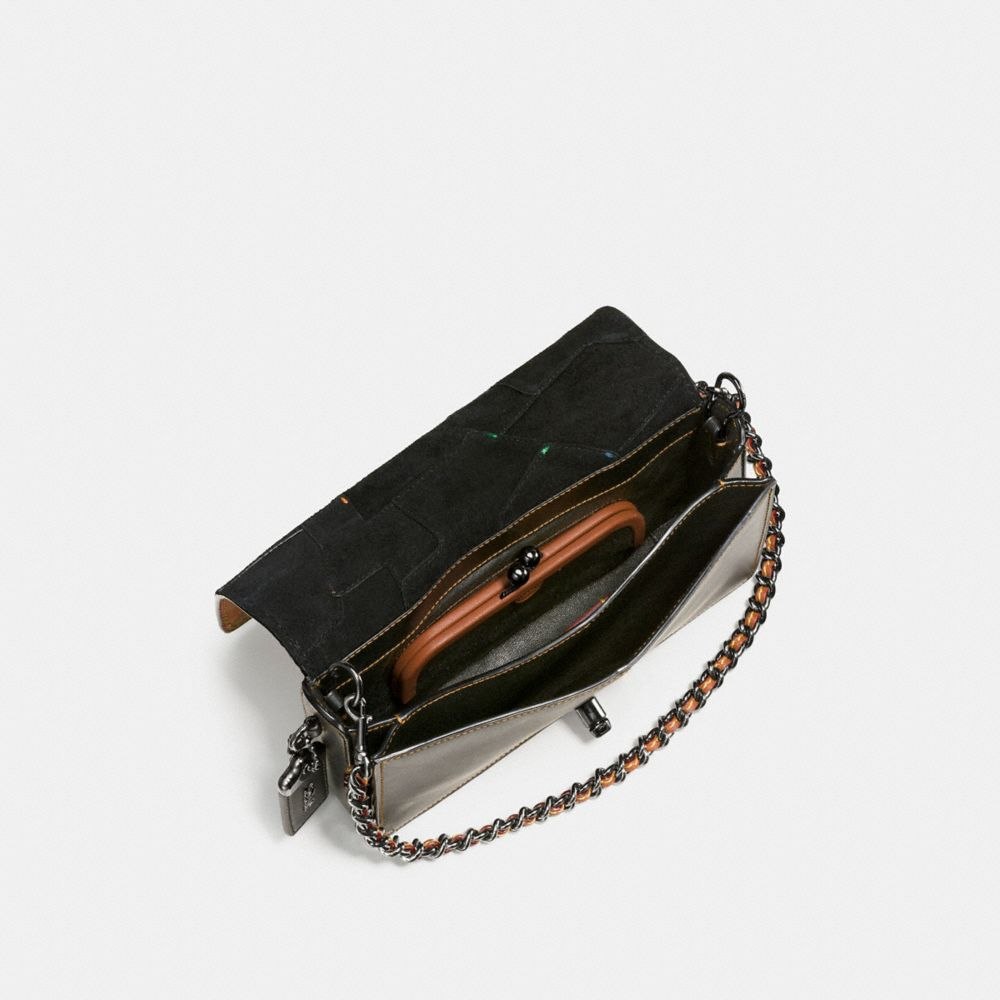 DINKY CROSSBODY IN PATCHWORK LEATHER - Alternate View A3
