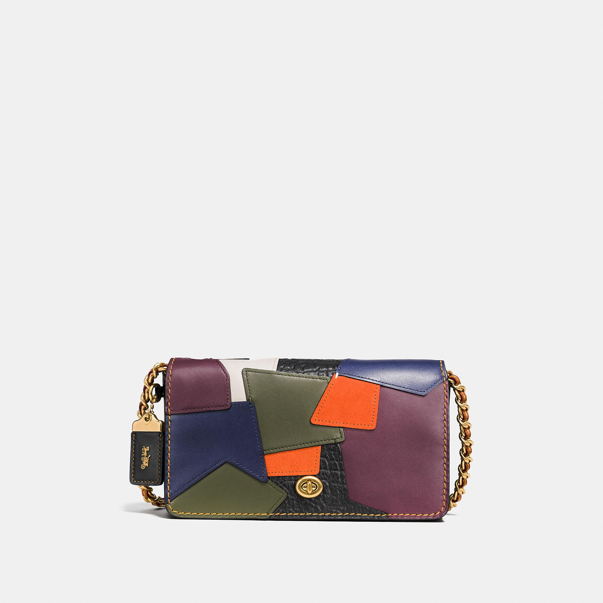 Coach 1941 Dinky Crossbody In Patchwork Leather